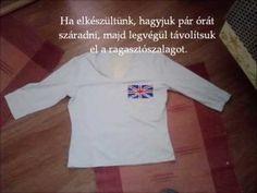 d7631f71e6 Hogyan fessünk textilfestékkel zászló mintát pólóra? Polo Ralph Lauren