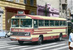 Veículos em Geral: Ônibus década de 70 M Benz362