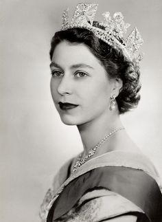 The Queen of England, Queen Elizabeth II.