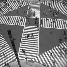 Crossroad, Tokyo, 1997 by Peter Marlow