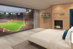 Marriott e Bayern de Munique constroem quartos de luxo no Allianz Arena