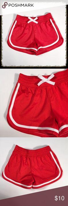❎3/$15 BCG Girls Athletic Shirts Size 7 Bright orange and white shorts are 100% polyester. Like new. BCG Bottoms Shorts