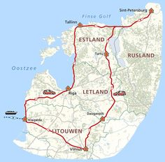 Baltische parels en Sint-Petersburg. Een18-daagse rondreis door Estland, Letland, Litouwen en Rusland.  Tussendoor bezoek je ook St. Petersburg in Rusland. Kortom, een reis vol avontuur!