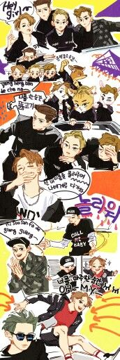 Call me baby Exo Ot12, Chanyeol, Kaisoo, Kpop Exo, Bts And Exo, Exo Kai, Mtv, Exo Anime, Exo Fan Art