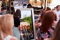 Ενοικίαση Mirror Photo booth | Εταιρικες εκδηλώσεις | Γάμος | Βάπτιση Polaroid Film