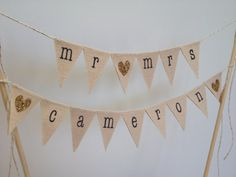 Custom Surname mr & mrs Wedding Cake Topper, custom color glitter hearts