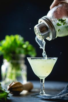 Basil isn't just for pesto, y'all. #cocktails #with #herbs https://greatist.com/eat/cocktail-recipes-with-herbs