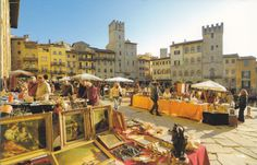 Arezzo - the Antique Furniture Exhibition that takes place the first week end of every month. Old Trees, Cypress Trees, Group Travel, Romanesque, The Locals, Antique Furniture, Tuscany, Countryside, Woodland