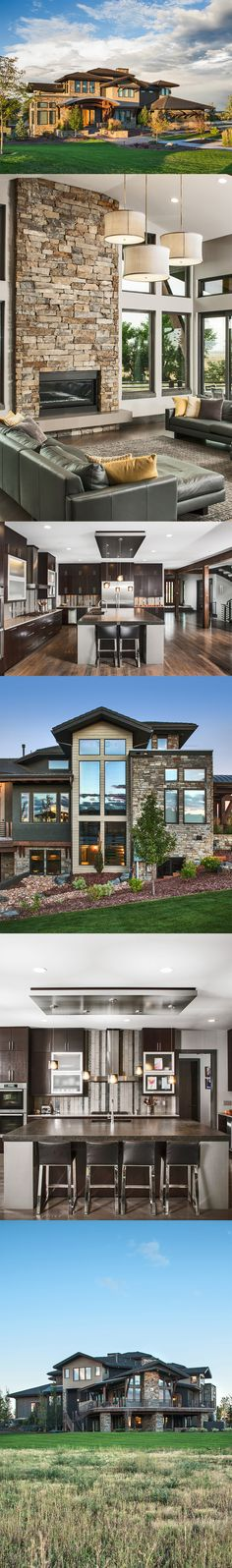 Residential photography. Modern luxury home in Broomfield, Colorado.