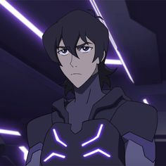 Keith shot an angry glare at Kolivan in Blade of Marmora from Voltron Legendary Defender