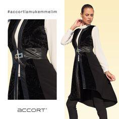 Asil Siyah #moda #yelek #fashion #accortgiyim #accortlamukemmelim