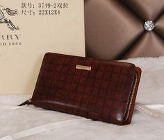 Burberry Clutch Bag 3749 Double Zipper