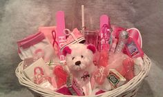 Connie's Creations | Breast Cancer Awareness Gift Basket | Online Store Powered by Storenvy