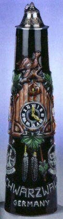 2 Liter Cuckoo Clock German Jug By King-Werks
