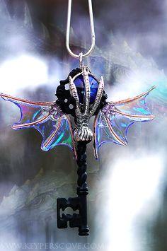 Dragon Holder Key by KeypersCove on DeviantArt