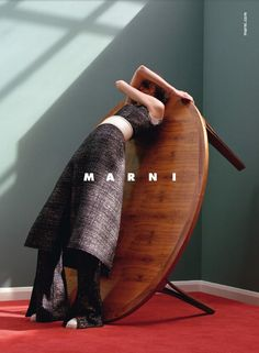 Jackie Nickerson – Marte Mei van Haaster for Marni Fall Winter Campaign
