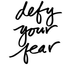 That's right!. #quoteoftheday #fear