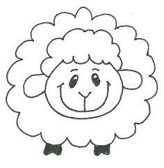 Ovelhas - Desenhos para Colorir - Desenhos Para Colorir