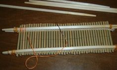 Making a heddle (Japanese)