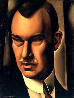 Portrait de baron Kuffner - Tamara de Lempicka