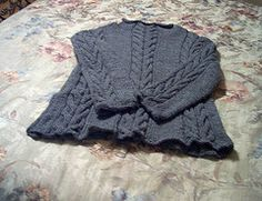Ravelry: 08 Sweater with Cables pattern by Rebecca Design Team