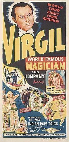 Virgil World famous Magician