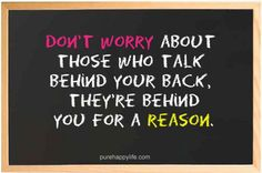 #quotes - Dont worry about those...more on purehappylife.com