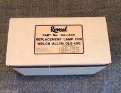Reveal DA-L400 Replacement Lamp for Welch Allyn DLS-400 Light Source  #Dental #medical #Reveal #WelchAllyn