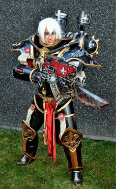 * Sister of Battle - Warhammer 40,000 * Games Workshop http://superpoweredfiction.com/page/16/?s=cosplay