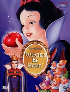 If Disney Movie Posters told the truth... Snow White!!! LOL