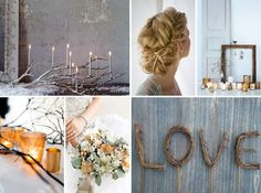 rustic winter wedding bouquets | Posted by Annie @ Marry You Me at 9:22 AM 8comments