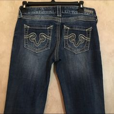 ReRock for Express Bootcut jeans This is a size 2 ReRock jeans from express they are in very good condition Bootcut. Express Jeans Boot Cut