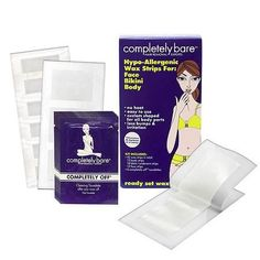online shopping for Hypo-Allergenic Wax Strips For Face, Bikini & Body By Completely Bare from top store. See new offer for Hypo-Allergenic Wax Strips For Face, Bikini & Body By Completely Bare Best Hair Removal Products, Hair Removal Methods, Laser Hair Removal, Wax Strips, Waxing Kit, Beauty Makeup Tips, Beauty Tricks, Beauty Products, Personal Hygiene