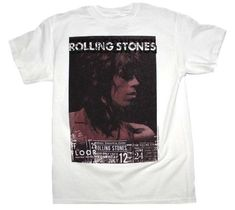 07f829bb White Keith Vintage Live Tee Shirt Size 14 (L). Free shipping and guaranteed