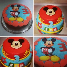 Mickey Mouse taart / Mickey Mouse Cake