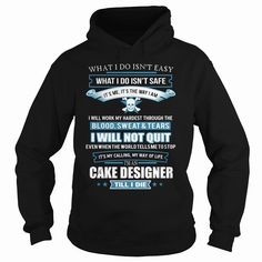 CAKE-DESIGNER, Order HERE ==> https://www.sunfrog.com/LifeStyle/CAKE-DESIGNER-91688669-Black-Hoodie.html?id=41088 #christmasgifts #xmasgifts #cake #cakelovers