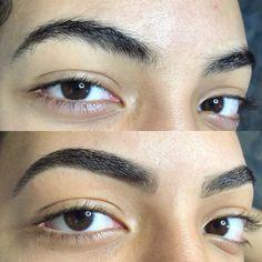 Sobrancelha fio a fio: as melhores técnicas para realçar o olhar - Dicas de Mulher Thin Eyebrows, Shapes Of Eyebrows, Wear Sunscreen