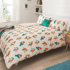 George Home Parrots Duvet Set, read reviews and buy online at George at ASDA. Shop from our latest range in Home & Garden. This gorgeous duvet set is made fr...