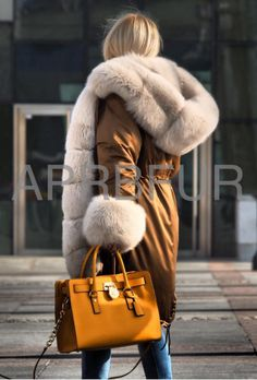 APRB Furs parka. I could just curl up inside that hood and he happy.