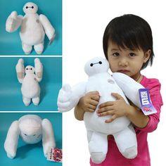 "12"" Plush Baymax Robot Big Hero 6 Stuffed Toy Soft Cute Doll Kids Christmas Gift #Tara"