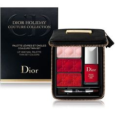 Dior Lip & Nail Palette, Twin-Set Colors found on Polyvore