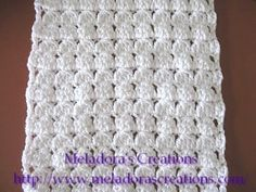 Cluster Stitch Scarf - Meladora's Creations Free Crochet Patterns & Tutorials