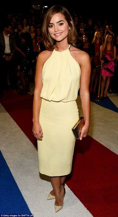 Brunette beauty: She has been dating Richard Madden, who played Prince Charming in the recent Cinderella film, since 2011
