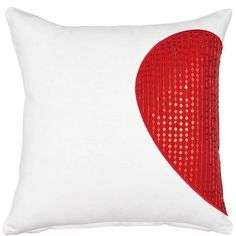 HEART TO HEART szíves párna Butler, To Go, Modern, Tapestry, Material, Home Decor, Heart, Pillows, Red