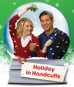 Ok......this isn't a Hallmark movie, but it reminds me of one and i love it. ABC Family - Holiday in Handcuffs - The ABC Family Original movie starring Mario Lopez and Melissa Joan Hart.