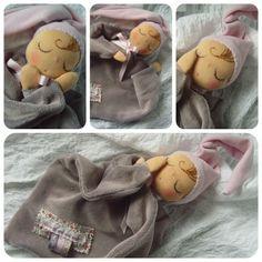doudou s'est endormi en ésperant retrouvé le lapin blanc