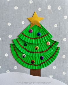 Top 40 Christmas Art And Craft Ideas For The Kids Christmas Celebrations Christmas Arts And Crafts, Christmas Crafts For Kids, Christmas Activities, Simple Christmas, Christmas Projects, Holiday Crafts, Christmas Cards, Christmas Baubles, Crafts For Kids To Make