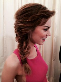 i would like to wear my hair like this all summer..
