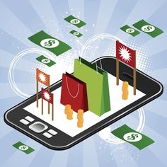 The Development Of Mobile Ecommerce - About E-Commerce News Business Marketing, Online Marketing, Digital Marketing, Mobile Application Development, App Development, Marketing Articles, Marketing Strategies, Online Mobile, Mobile Marketing