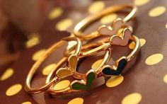 Heart Stacked Rings